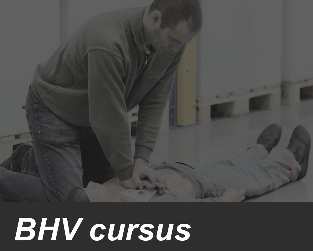 BHV (Incompany mogelijk)
